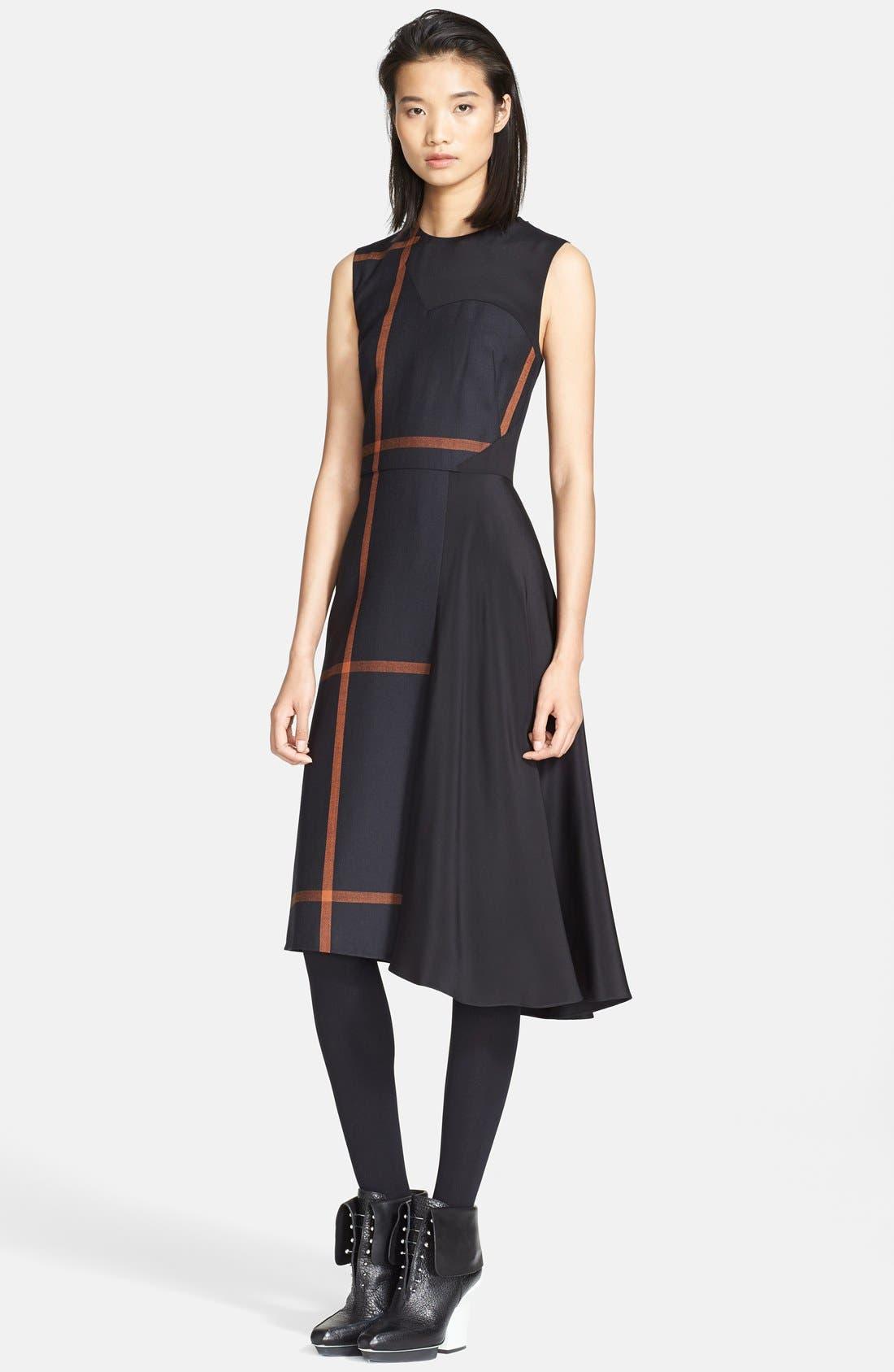 Alternate Image 1 Selected - 3.1 Phillip Lim 'Shadow' Satin Inset Dress