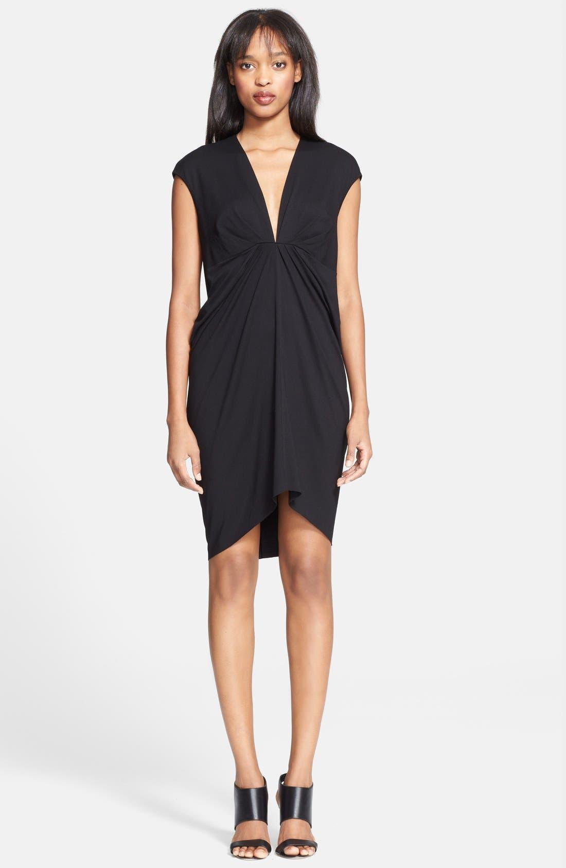 Alternate Image 1 Selected - Robert Rodriquez V-Neck Jersey Dress