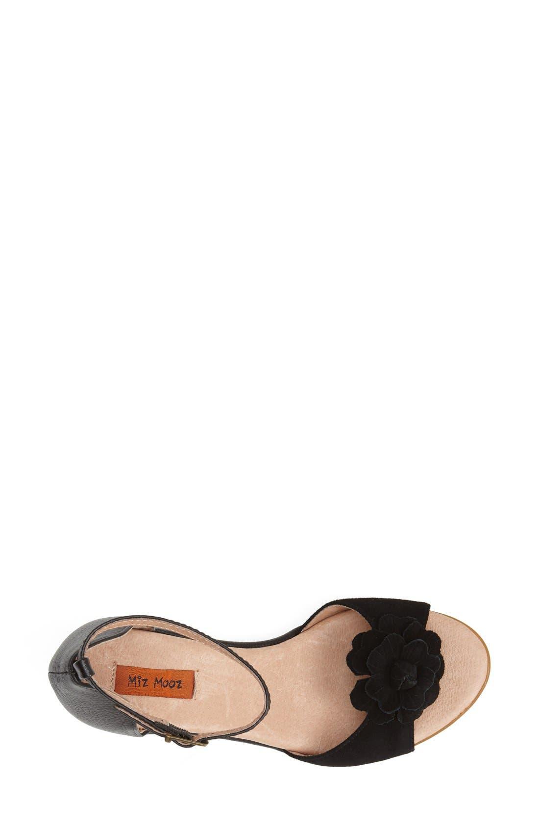 Alternate Image 3  - Miz Mooz 'Carmen' Leather Wedge Sandal (Women)(Special Purchase)