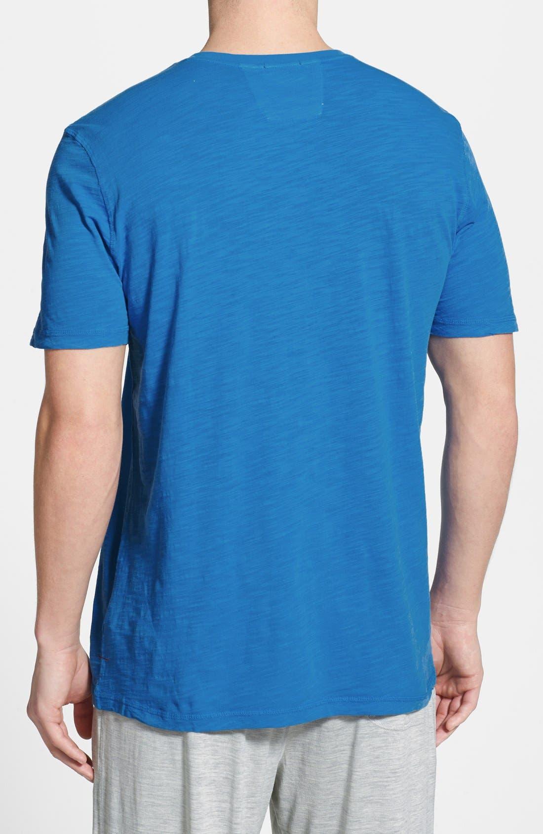 Alternate Image 2  - Daniel Buchler Cotton Slub T-Shirt