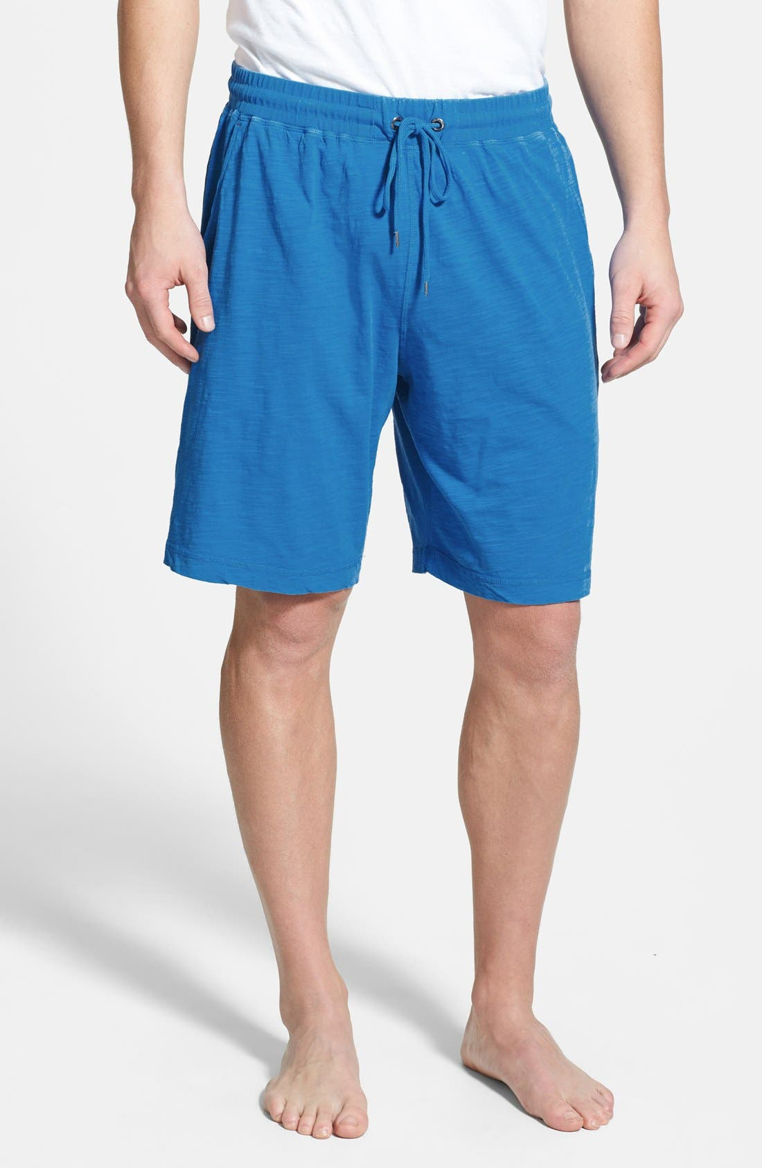 Main Image - Daniel Buchler Cotton Slub Lounge Shorts