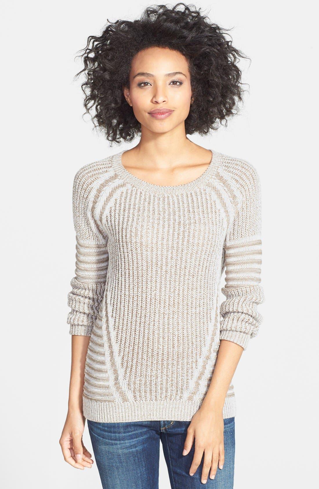 Alternate Image 1 Selected - Halogen® Marled Crewneck Sweater