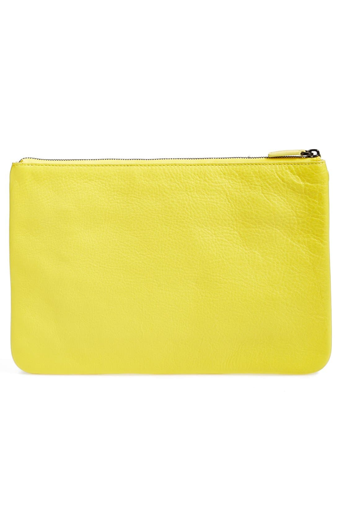 Alternate Image 3  - MCM 'World Soccer' Zip Top Pouch