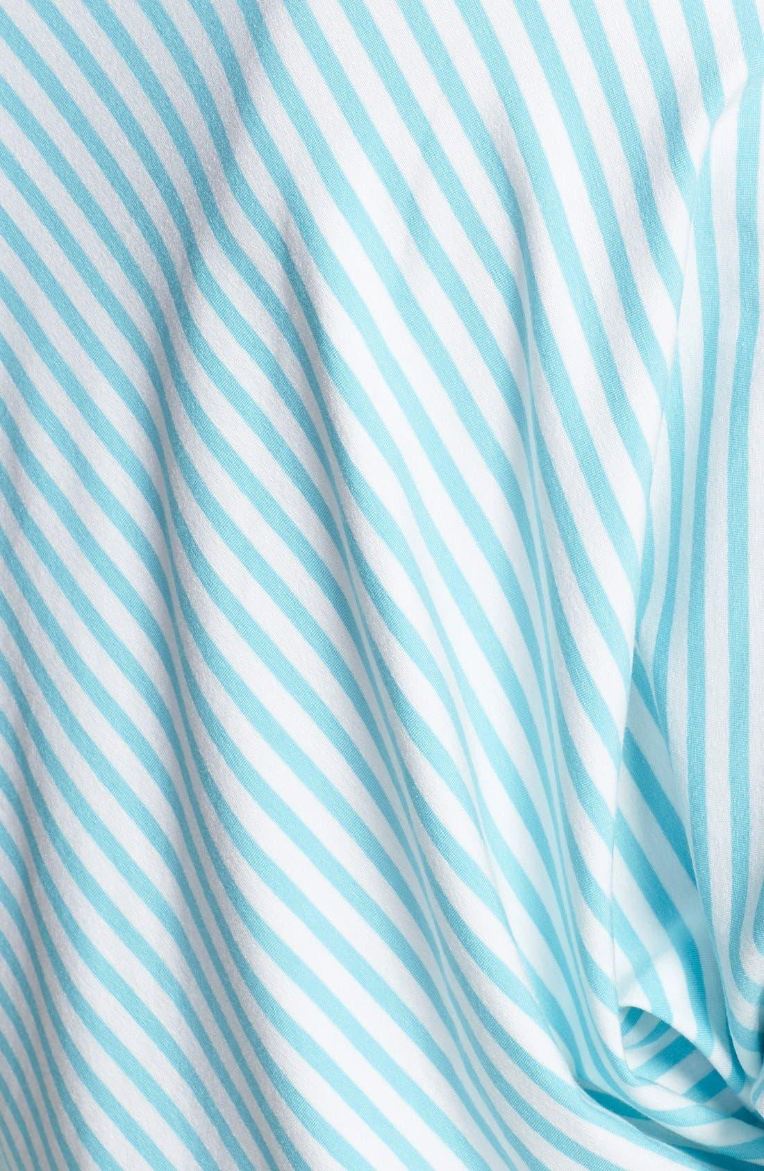Alternate Image 3  - Mott 50 Stripe Batwing Sleeve Tunic (UPF 50)