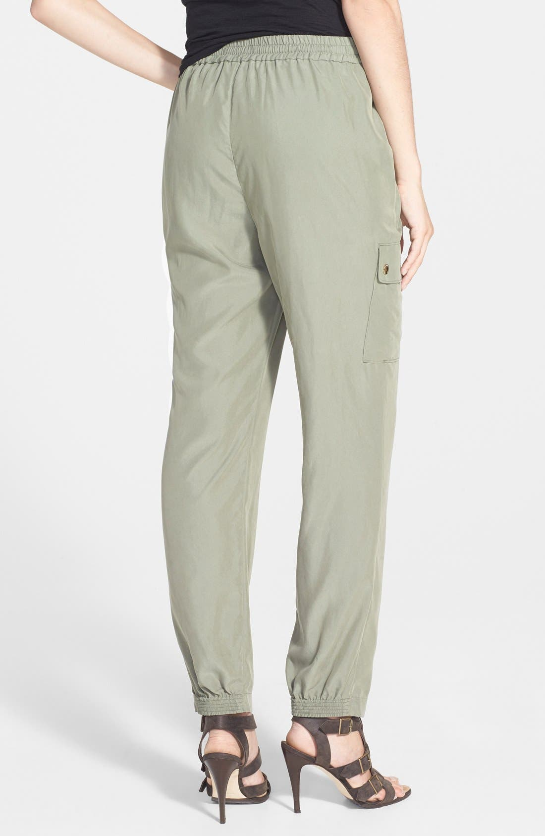Alternate Image 2  - Two by Vince Camuto Cargo Pocket Track Pants