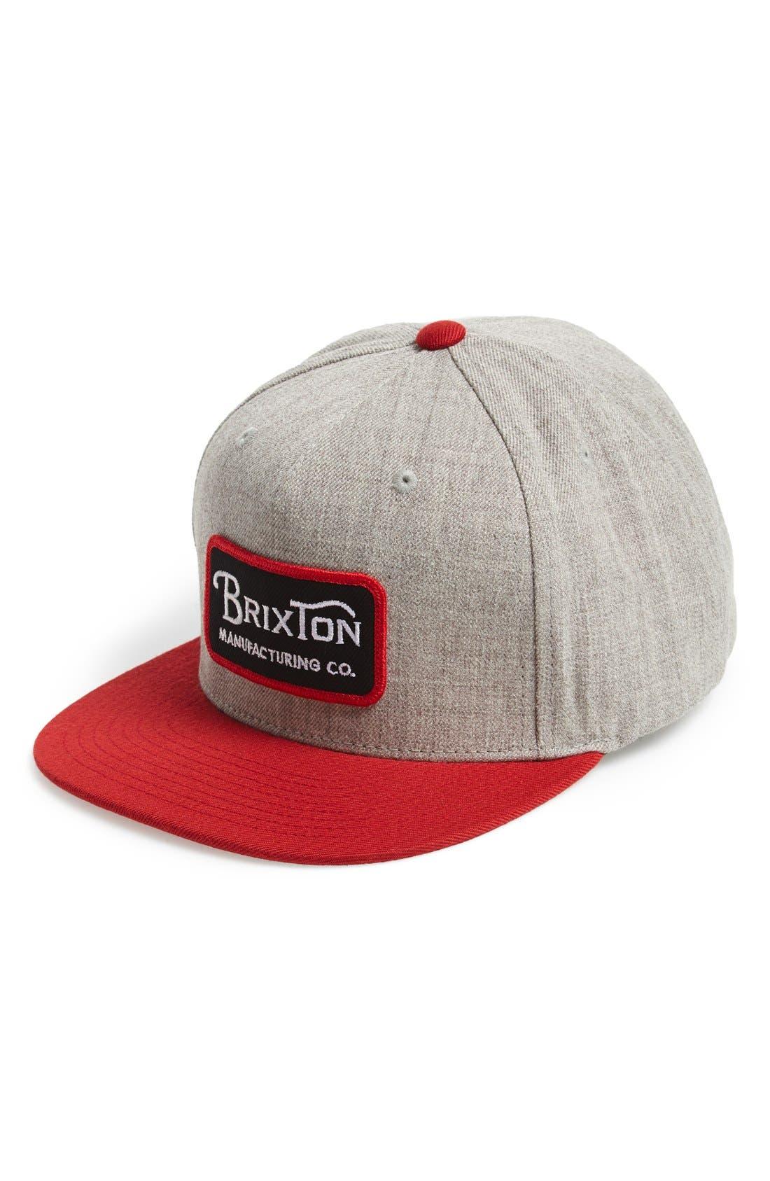 Main Image - Brixton 'Grade' Snapback Cap
