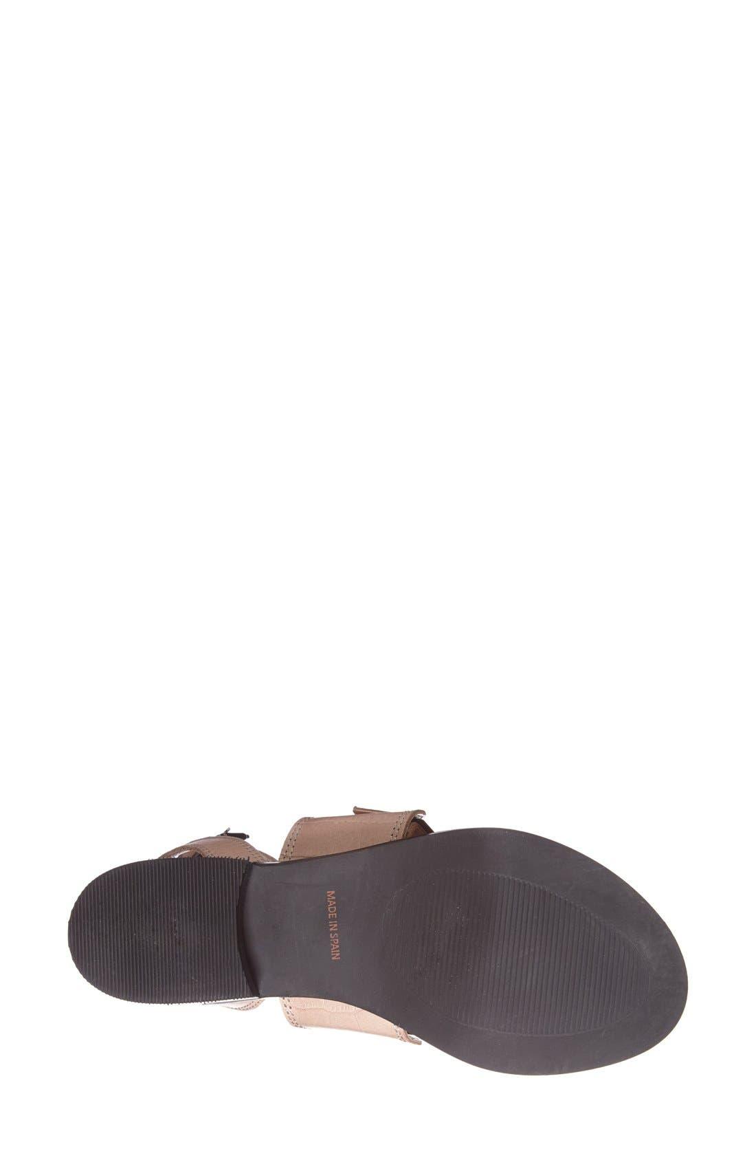Alternate Image 4  - Topshop 'Premium - Preeta' Ankle Strap Sandal (Women)