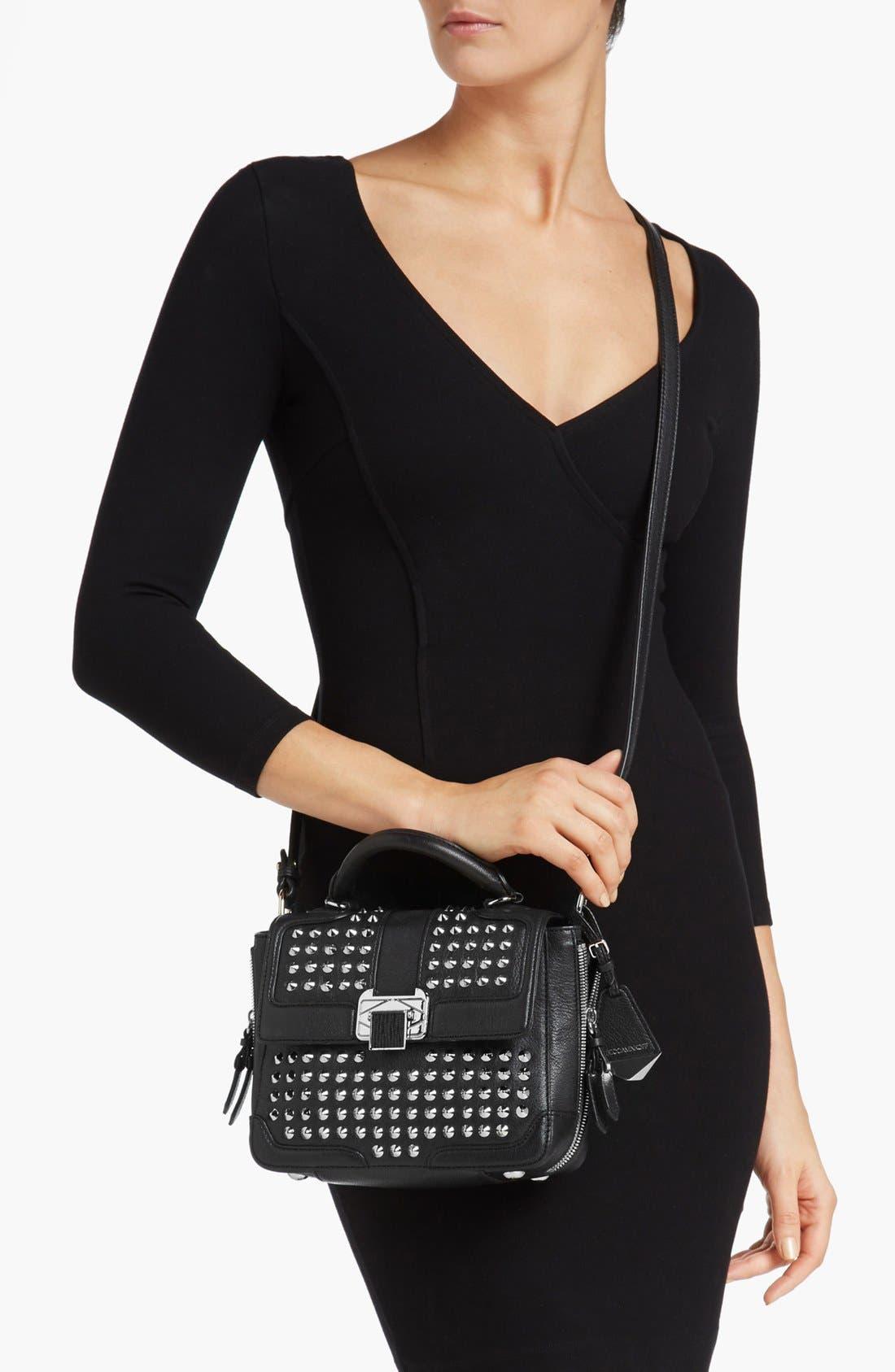 Alternate Image 2  - Rebecca Minkoff 'Elle Mini with Studs' Crossbody Bag