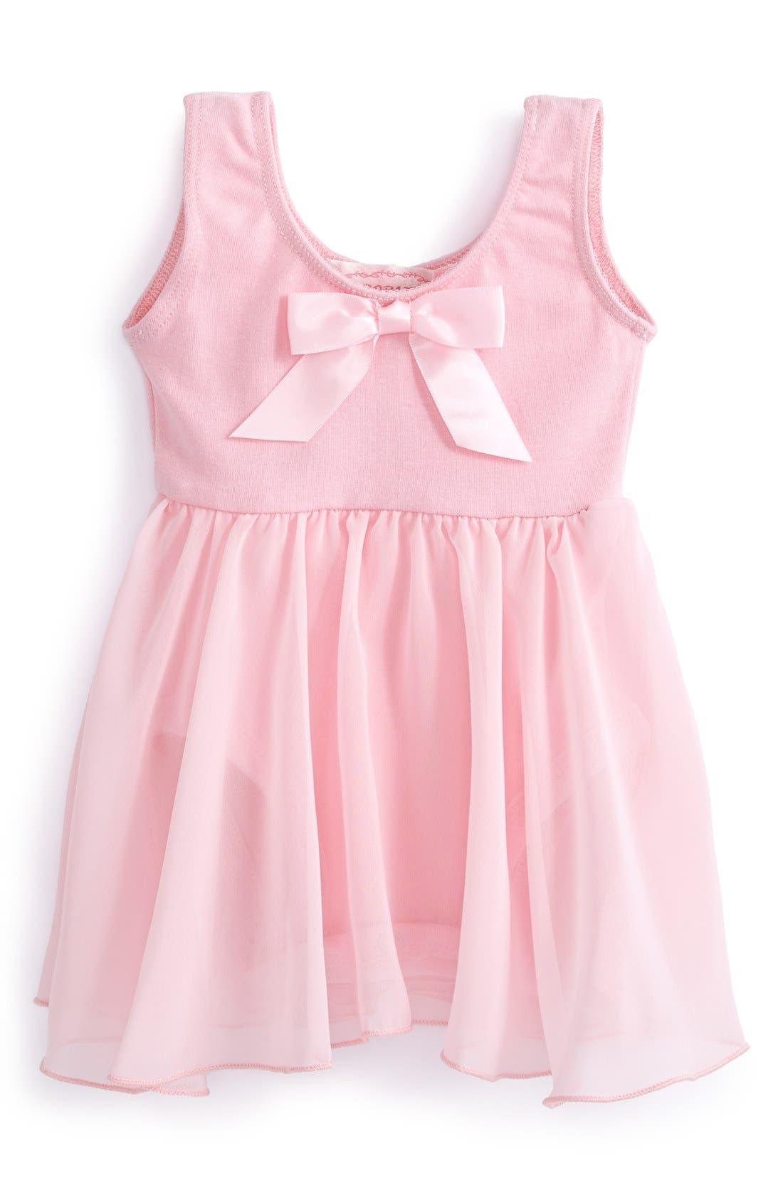 Main Image - Popatu Ballerina Dress (Baby Girls)