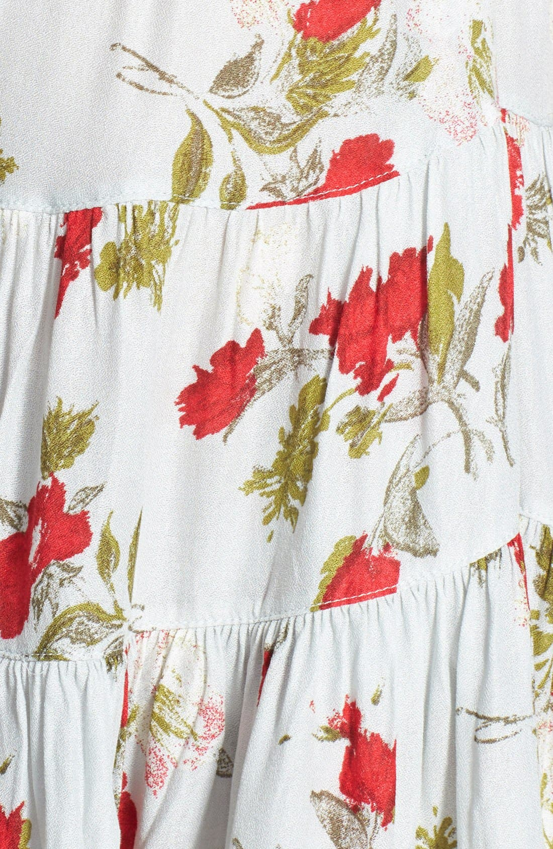 Alternate Image 4  - Free People Flower Print Slipdress