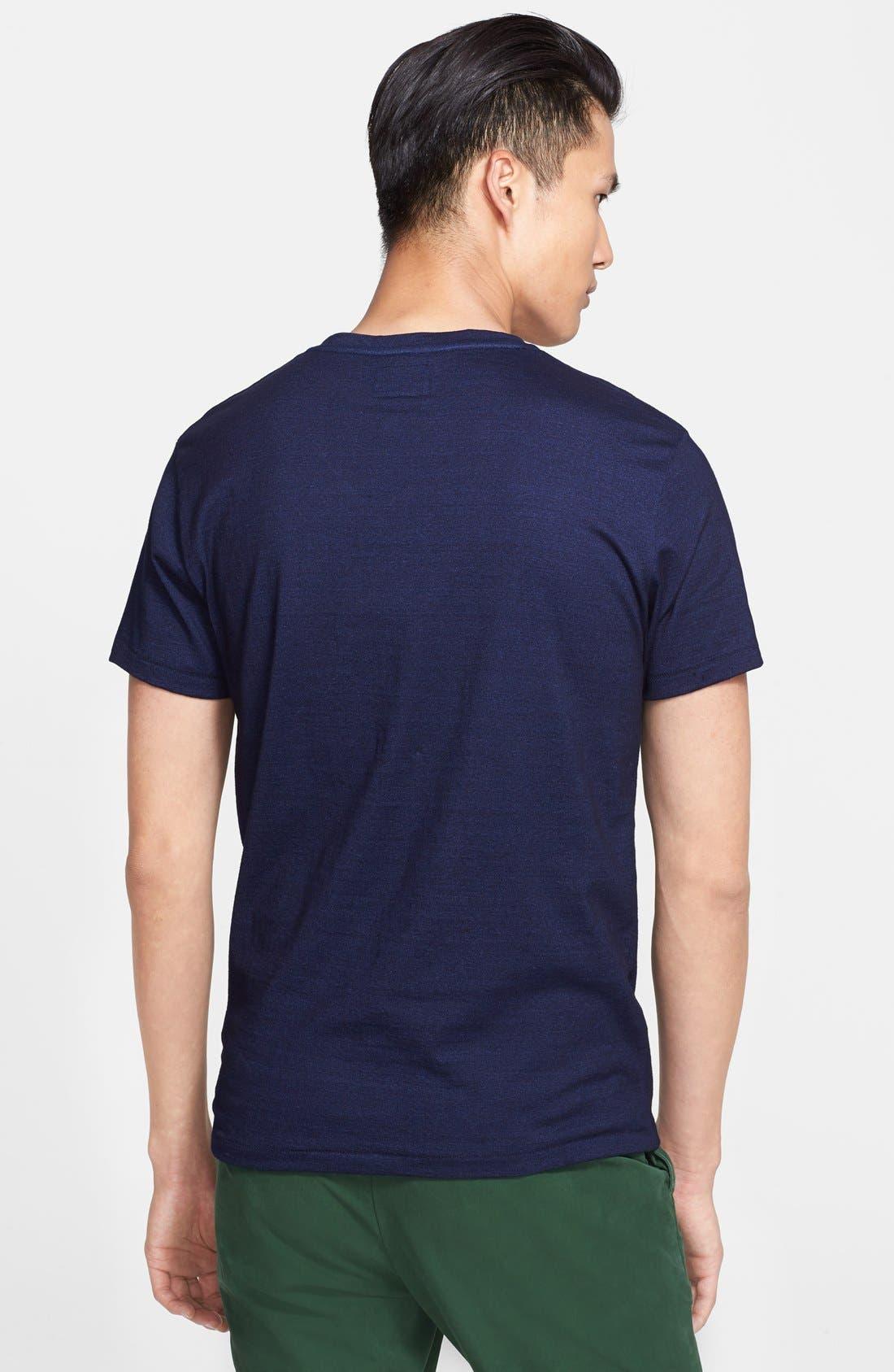 Alternate Image 2  - Todd Snyder Pocket V-Neck T-Shirt