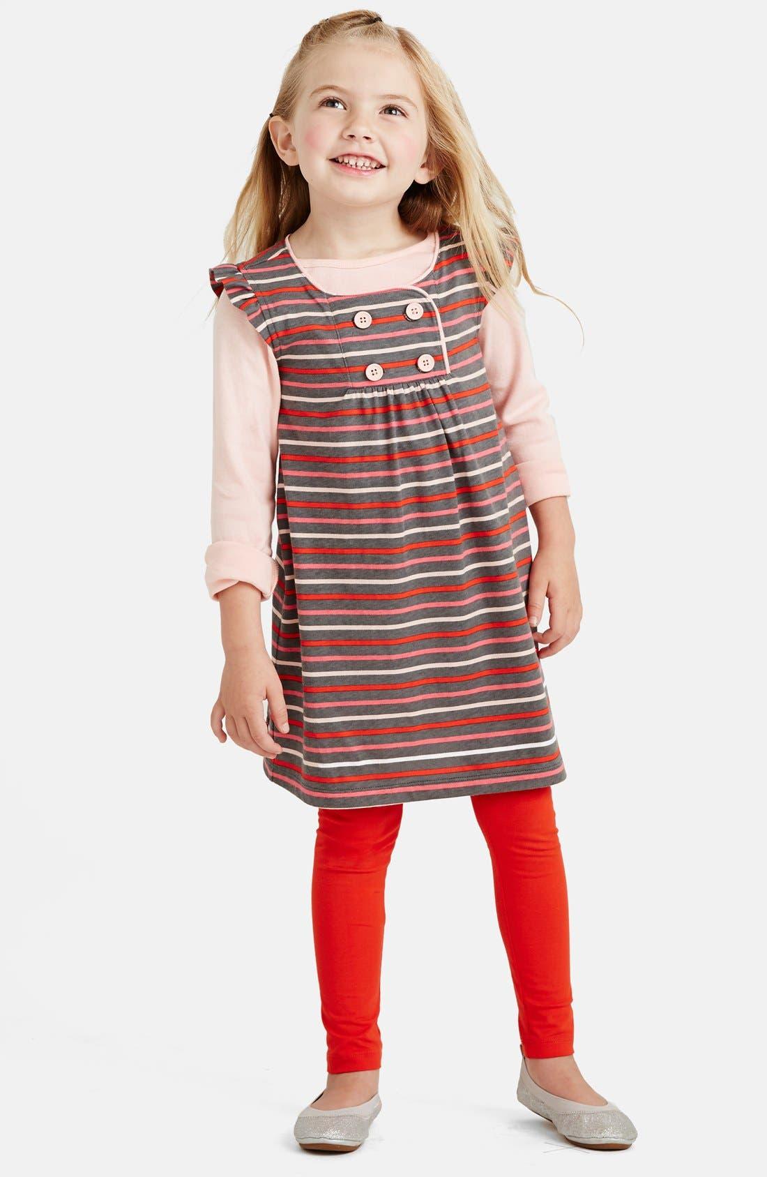 Alternate Image 2  - Tea Collection 'Altstadt' Stripe Cotton Jersey Dress (Toddler Girls, Little Girls & Big Girls)