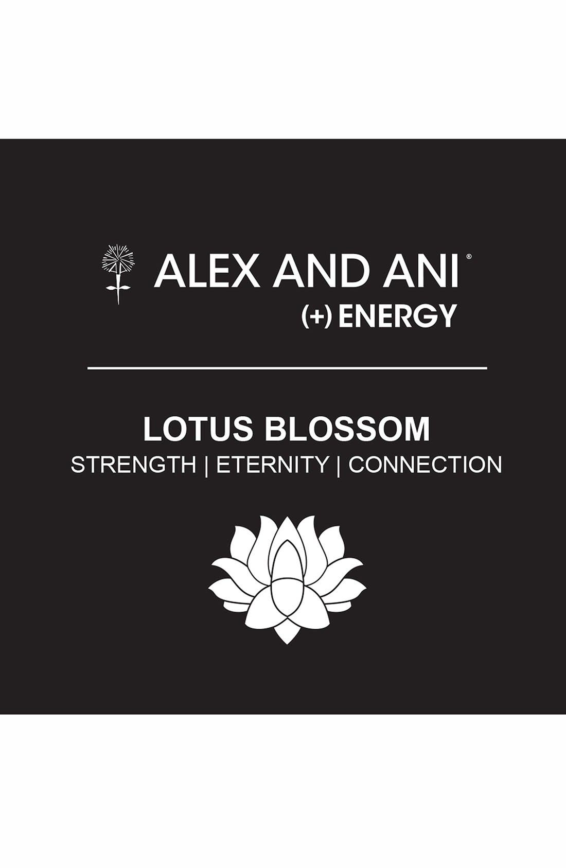 Alternate Image 2  - Alex and Ani 'Lotus Blossom' Expandable Wire Bangle
