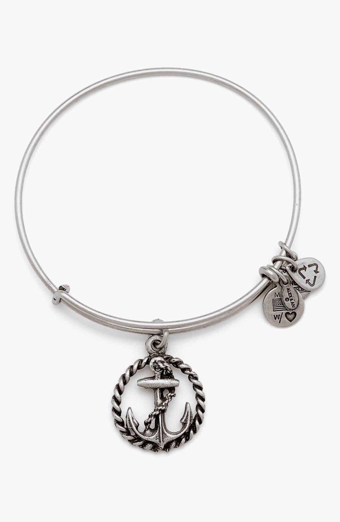 Alternate Image 1 Selected - Alex and Ani Nautical Bangle Bracelet