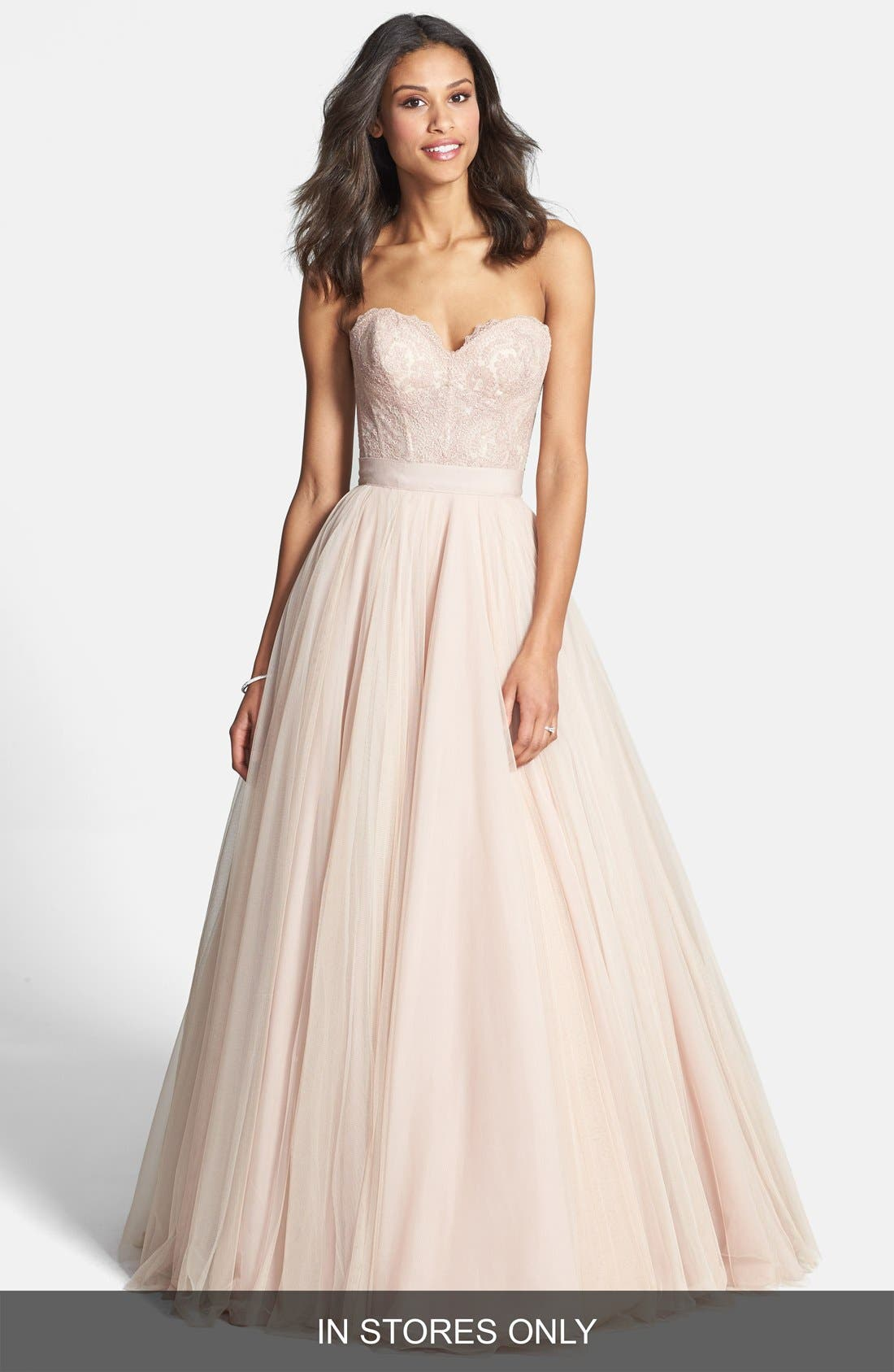 Watters 'Ahsan' Tulle Skirt (In Stores Only)