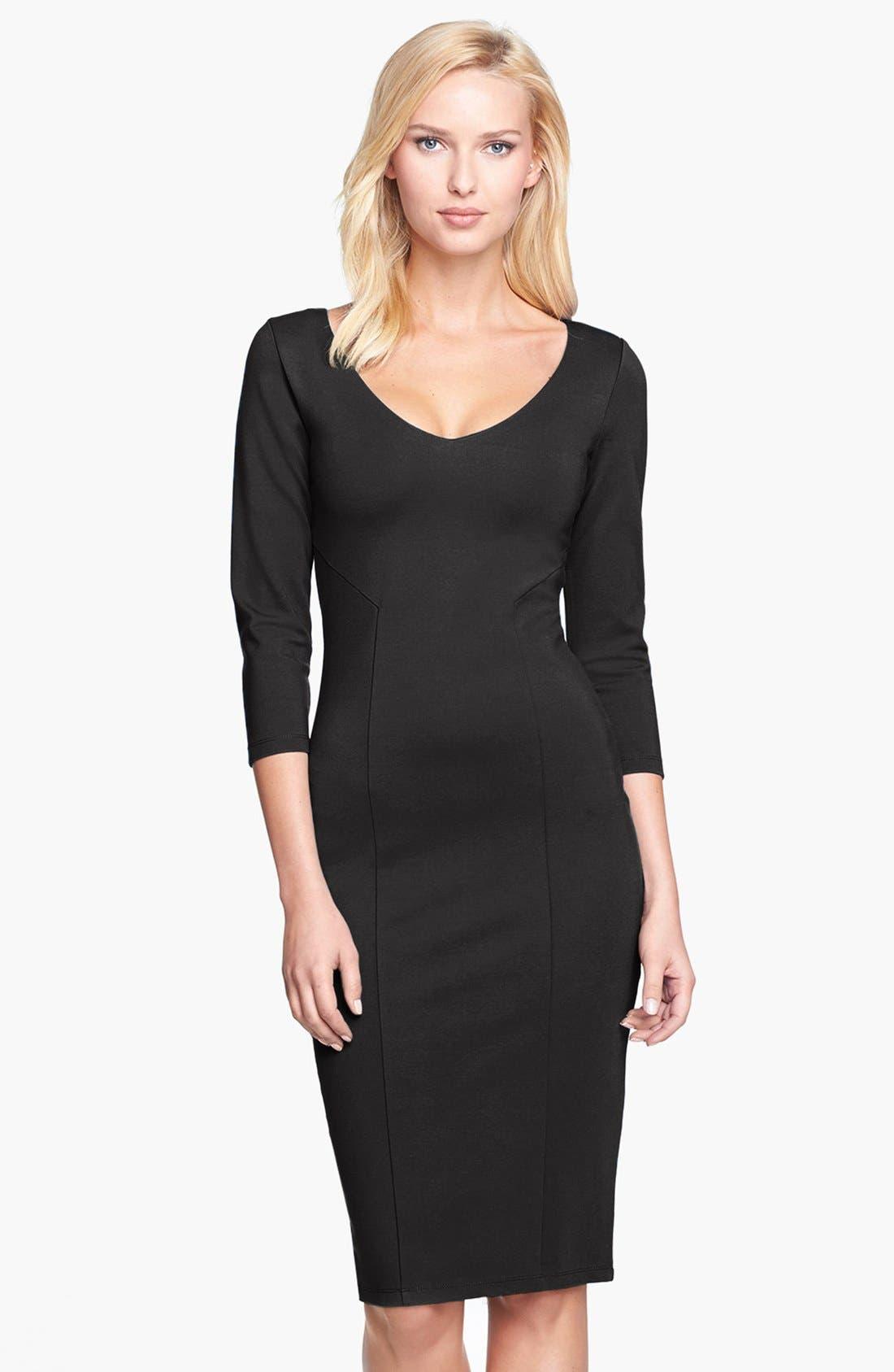 Main Image - Felicity & Coco Midi Sheath Dress (Nordstrom Exclusive)