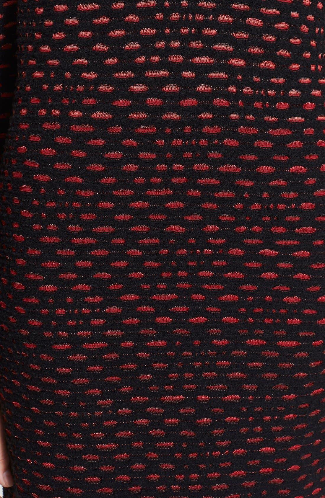 Alternate Image 3  - M Missoni Long Sleeve Bubble Knit Dress