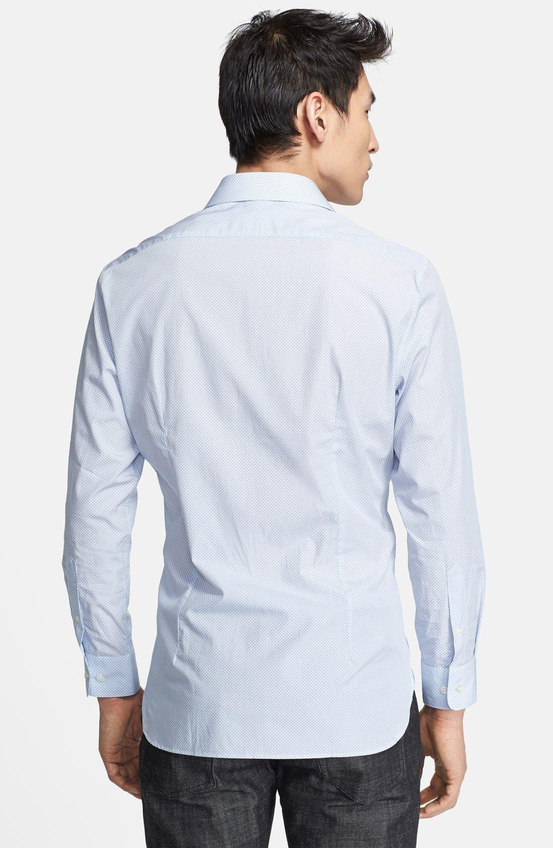 Alternate Image 2  - John Varvatos Collection Slim Fit Dress Shirt
