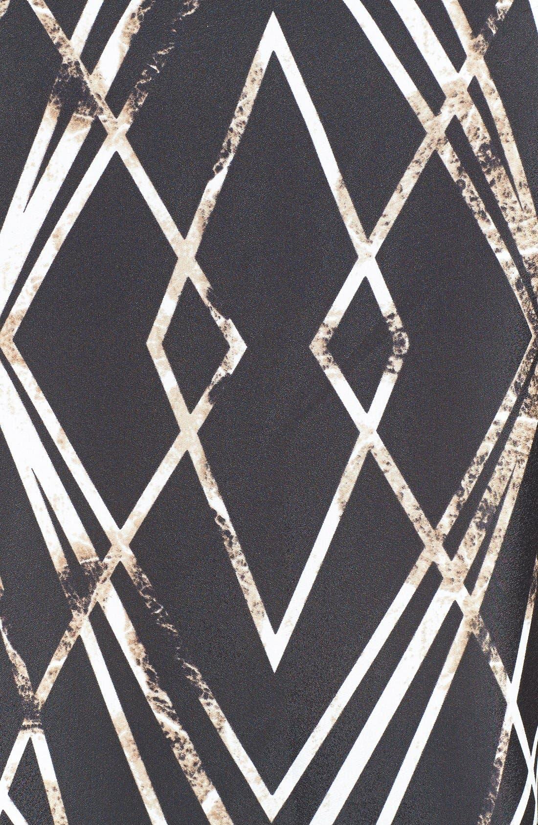 Alternate Image 3  - Vince Camuto 'Modern Web' Sleeveless Top (Plus Size)