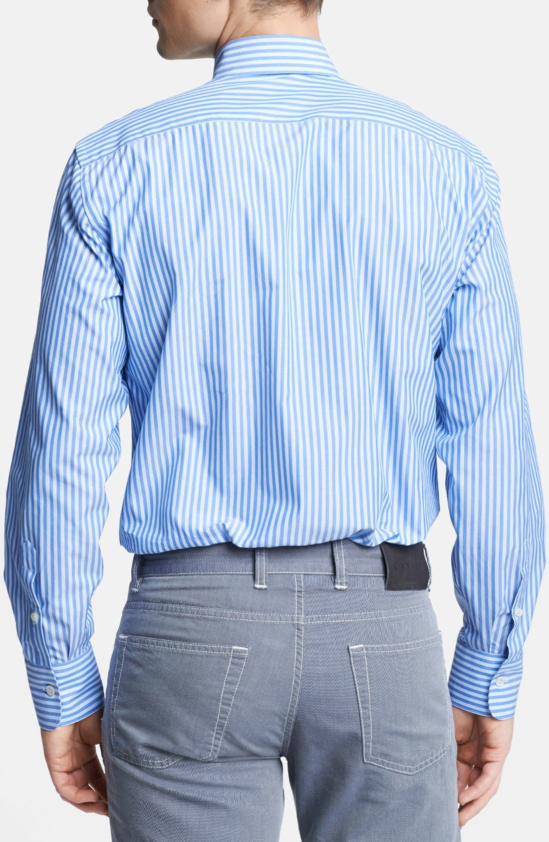 Alternate Image 2  - Canali Regular Fit Italian Sport Shirt