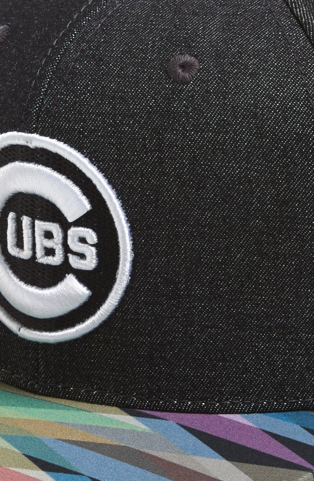 Alternate Image 2  - American Needle 'Chicago Cubs - Geo Tag' Baseball Cap