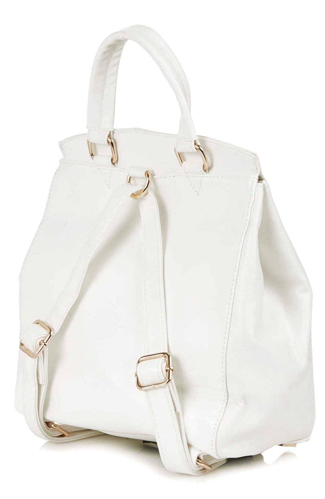 Alternate Image 4  - Topshop 'Smart' Backpack