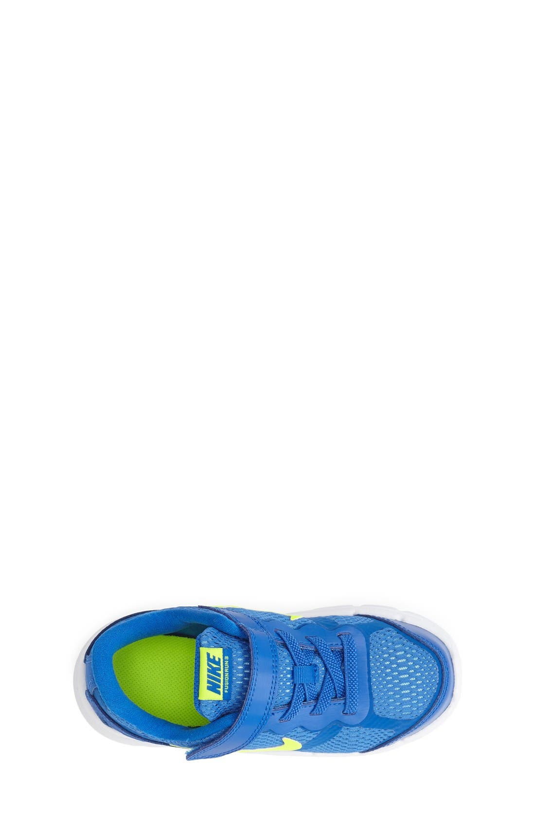 Alternate Image 3  - Nike 'Dual Fusion Run 3' Athletic Shoe (Baby, Walker & Toddler) (Online Only)