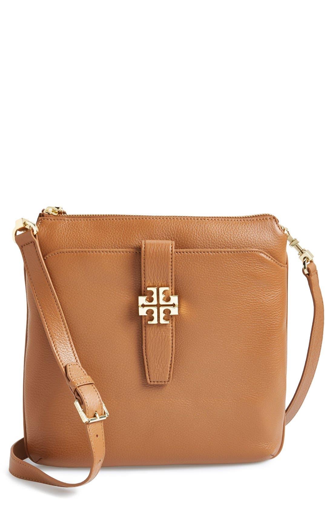Main Image - Tory Burch 'Plaque' Crossbody Bag
