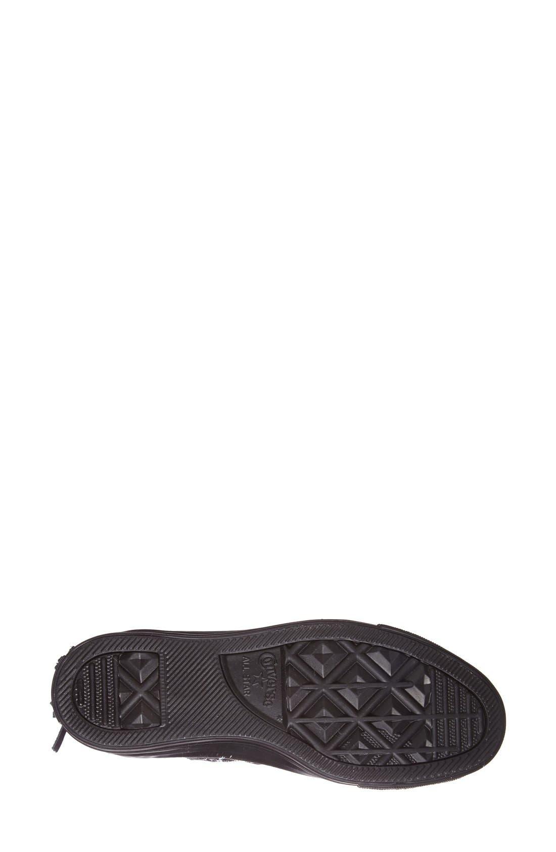 Alternate Image 4  - Converse Chuck Taylor® All Star® 'Tri Zip' High Top Sneaker (Women)
