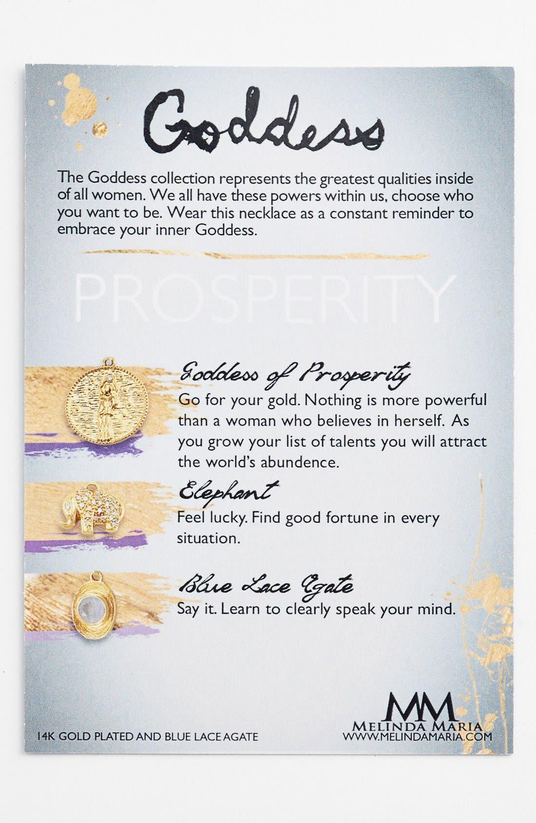 Alternate Image 4  - Melinda Maria 'Goddess of Prosperity' Charm Bangle