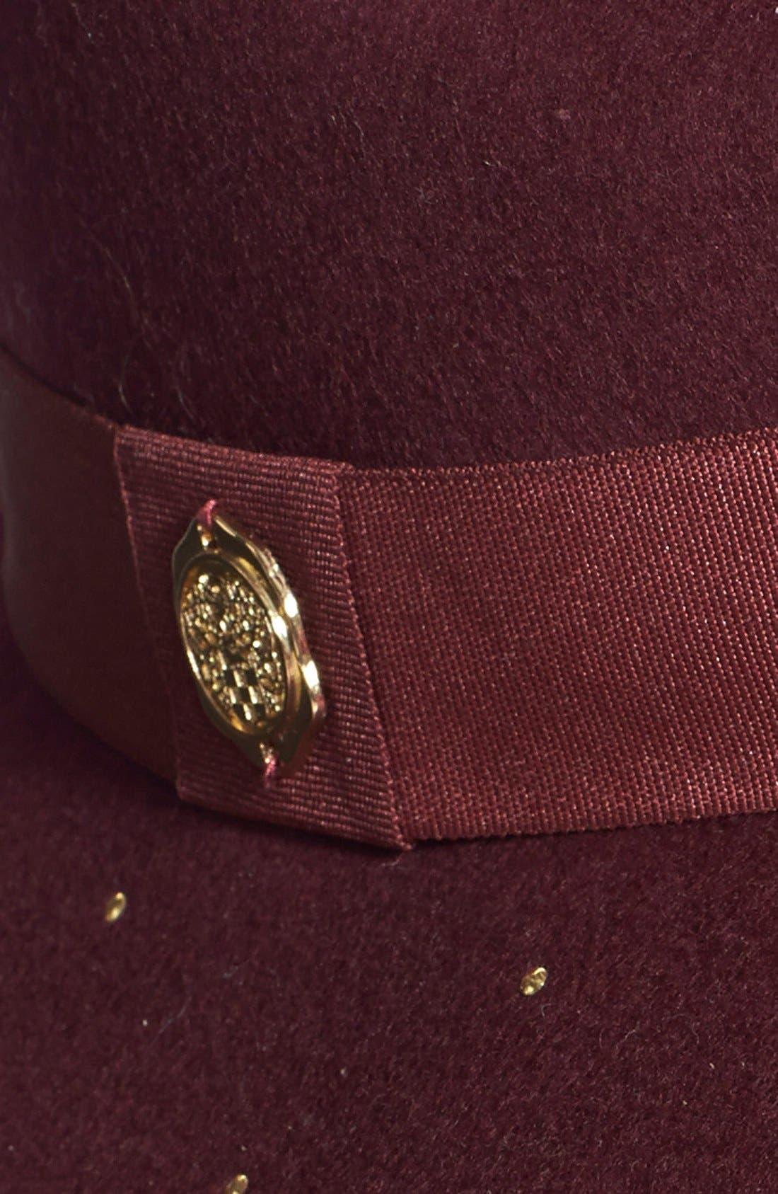Alternate Image 2  - Vince Camuto Studded Panama Hat