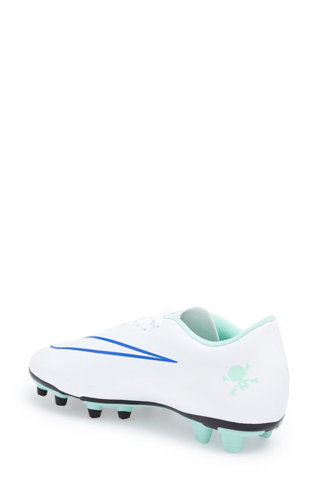 Alternate Image 2  - Nike 'Hypervenom Phade' Firm Ground Soccer Cleat (Women)