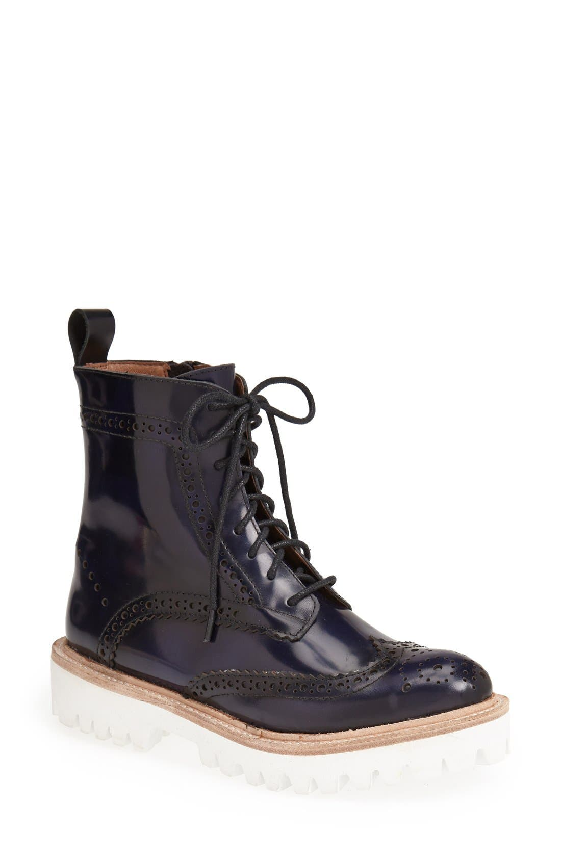 Alternate Image 1 Selected - Jeffrey Campbell 'Clash' Lug Bootie (Women)