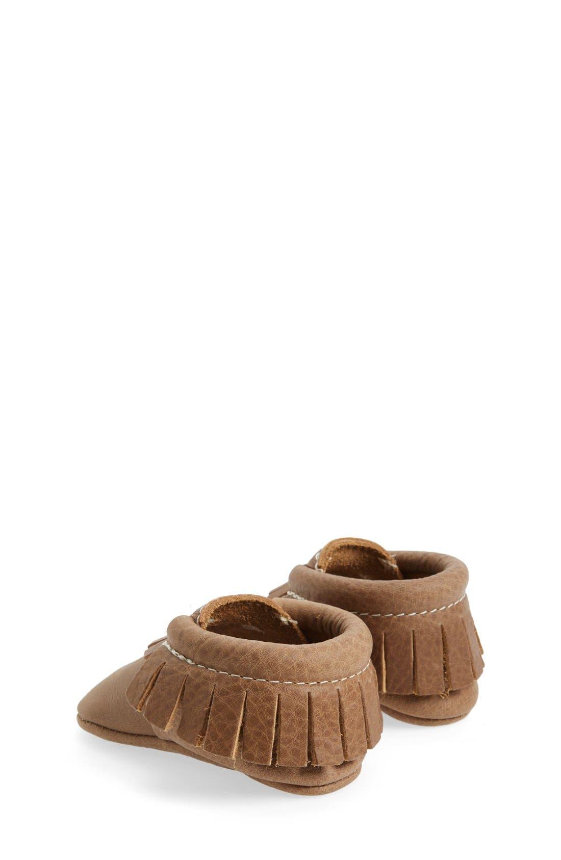 Alternate Image 2  - Freshly Picked Leather Moccasin (Baby & Walker)