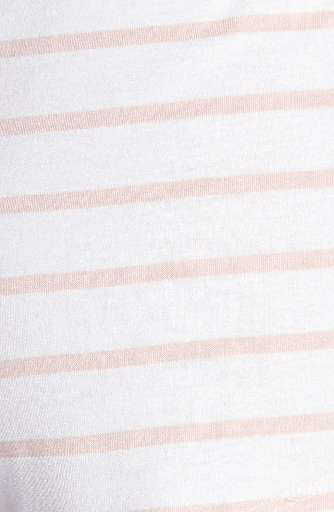 Alternate Image 3  - Eberjey 'Lounge Stripes' Shorts