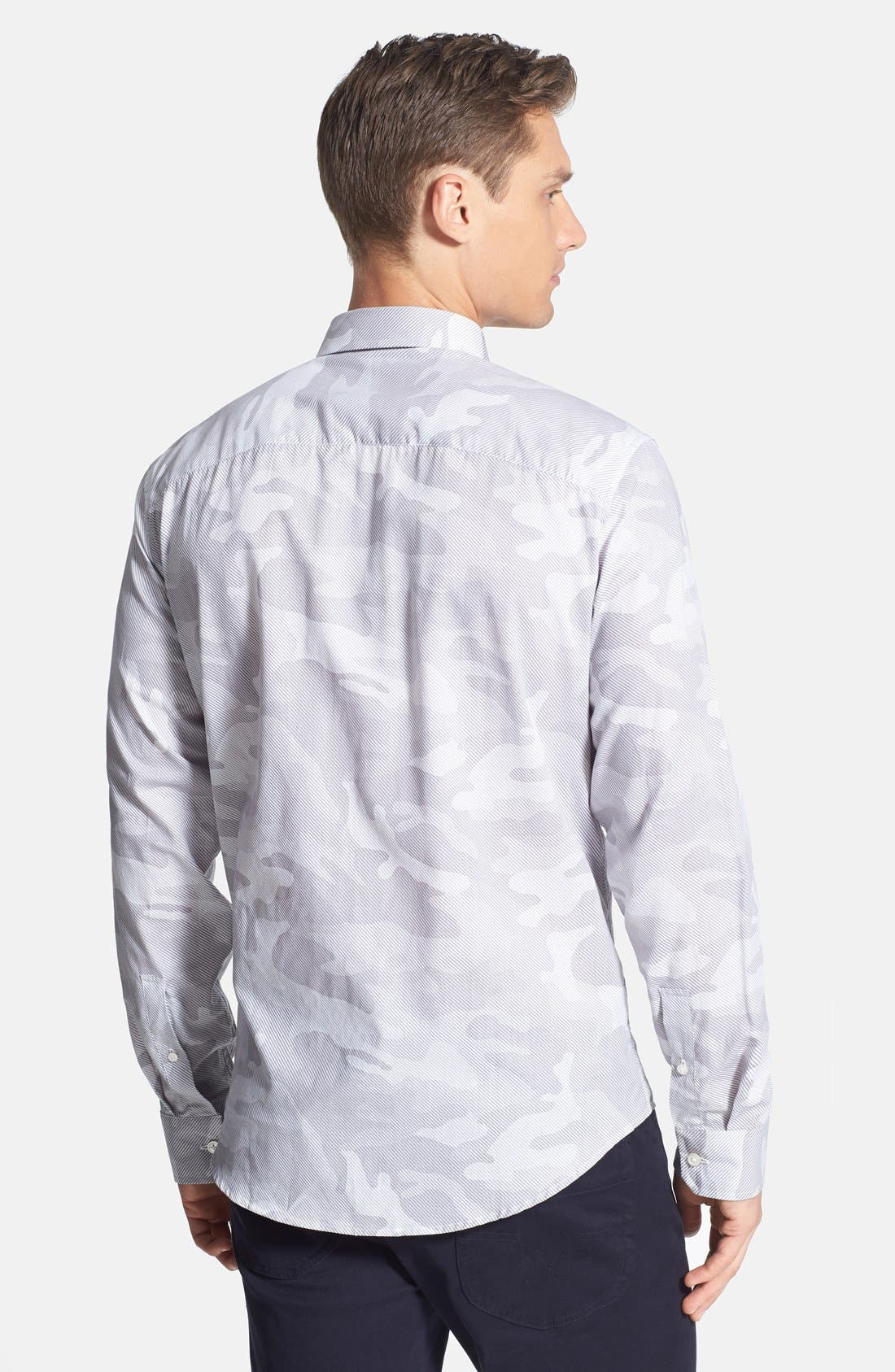 Alternate Image 2  - Michael Kors Camo Print Sport Shirt