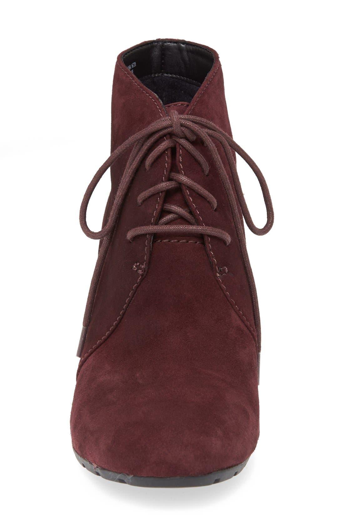 Alternate Image 3  - Clarks® 'Rosepoint Dew' Suede Boot (Women)