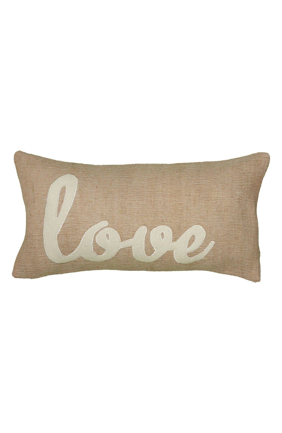 Alternate Image 1 Selected - Rizzy Home 'Love' Accent Pillow