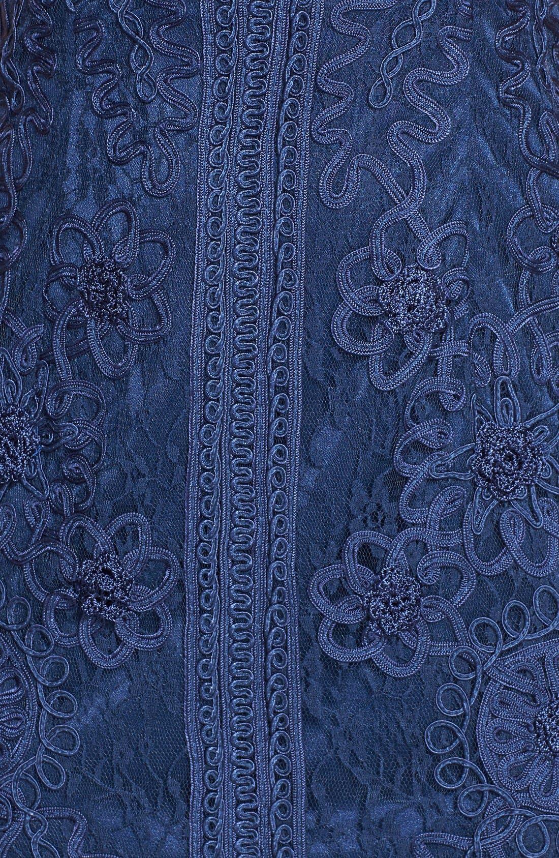 Alternate Image 3  - Sue Wong Soutache Sleeveless Sheath Dress