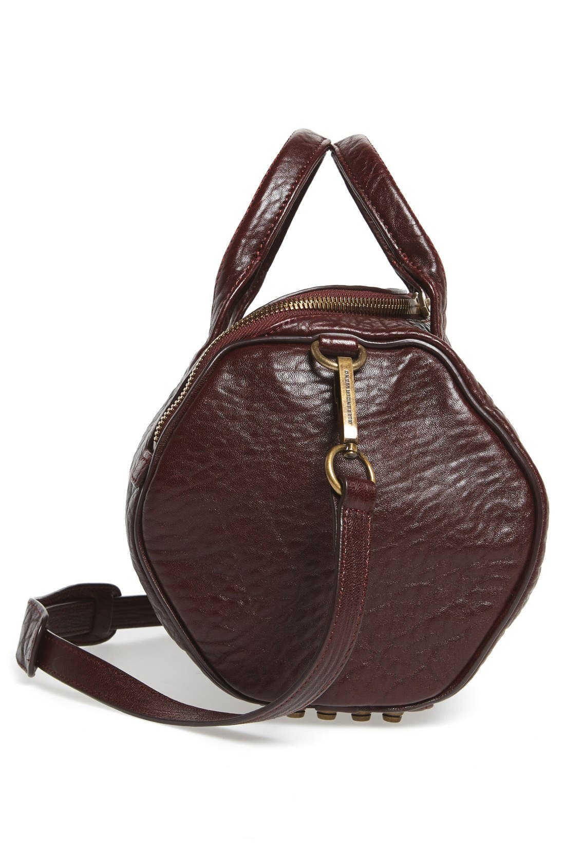Alternate Image 5  - Alexander Wang 'Rockie - Antique Brass' Leather Crossbody Satchel