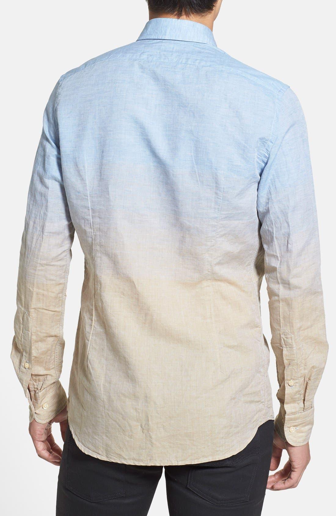 Alternate Image 2  - J. Lindeberg 'Dani 42 - Sunrise' Slim Fit Sport Shirt