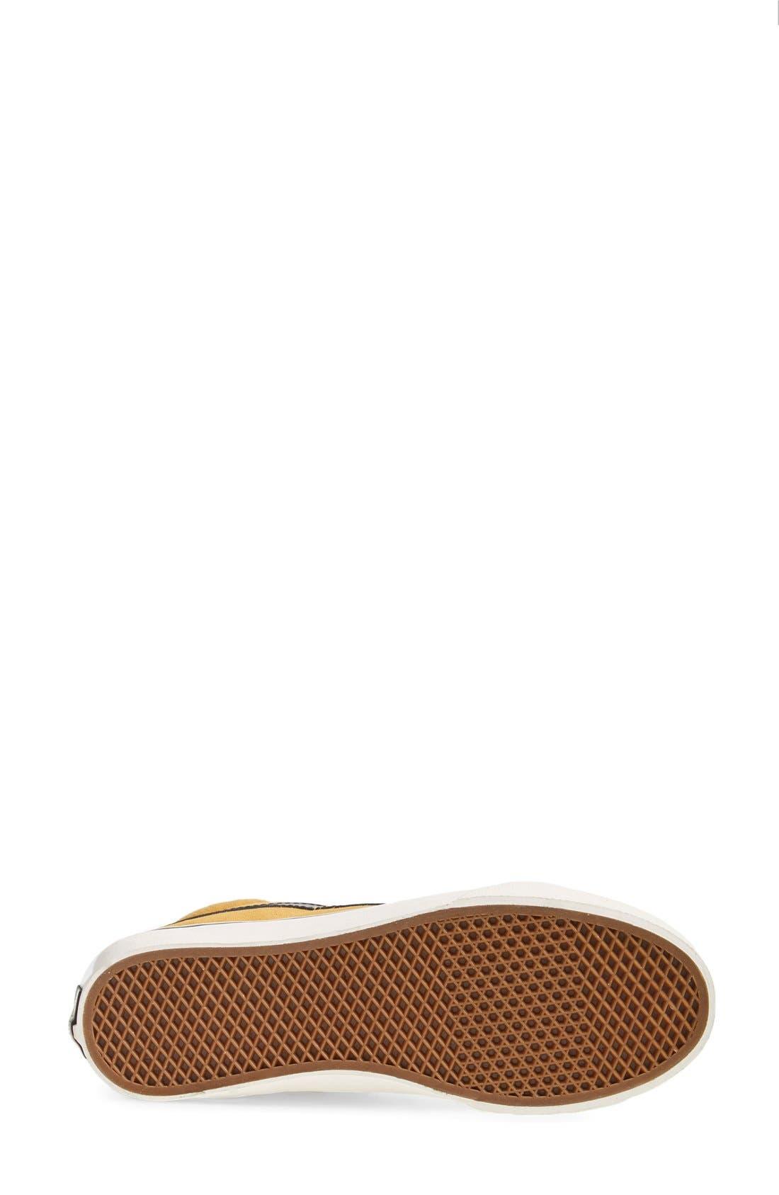 Alternate Image 4  - Vans 'Sk8-Hi Slim' Suede Sneaker (Women)