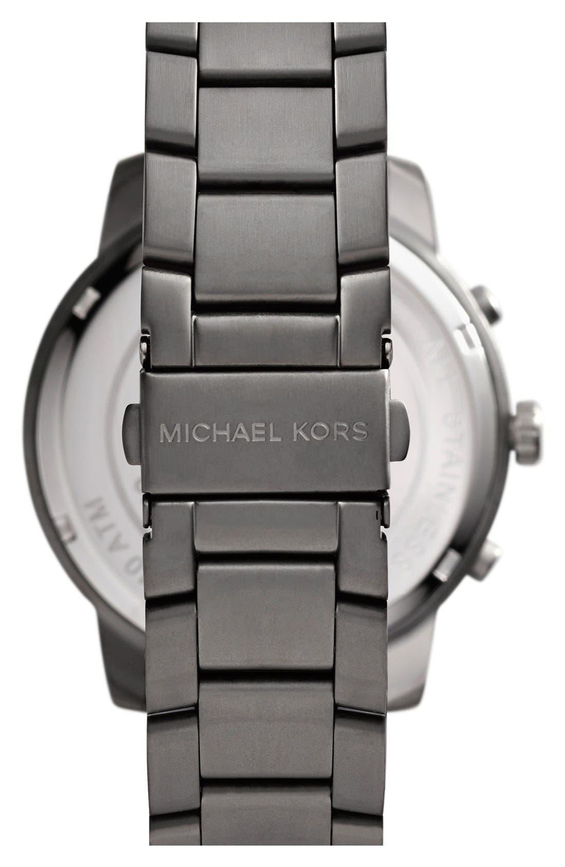 Alternate Image 2  - Michael Kors 'Granger' Chronograph Bracelet Watch, 45mm