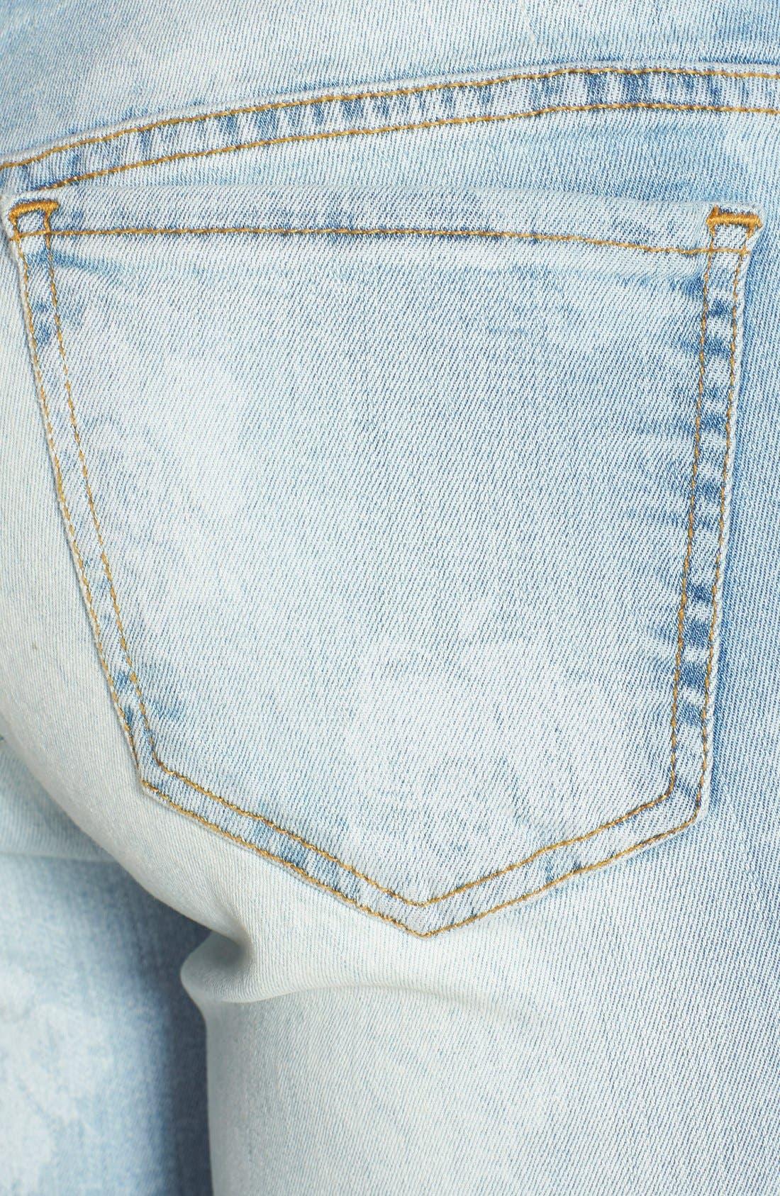 Alternate Image 3  - Volcom 'Liberator' Print Skinny Jeans