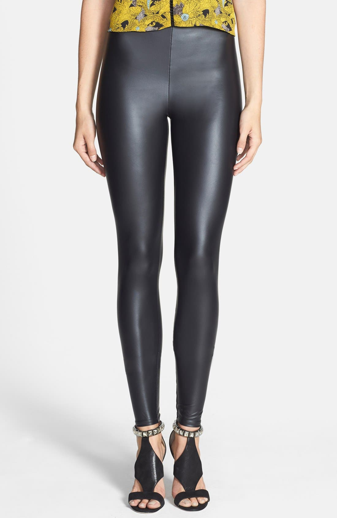 Alternate Image 1 Selected - Leith Seamed Leggings
