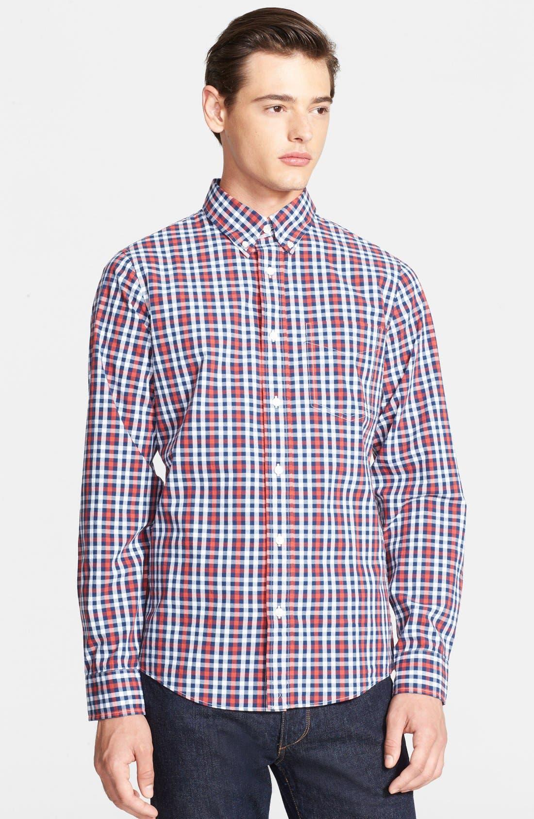 Alternate Image 1 Selected - Jack Spade 'Callahan' Check Woven Shirt