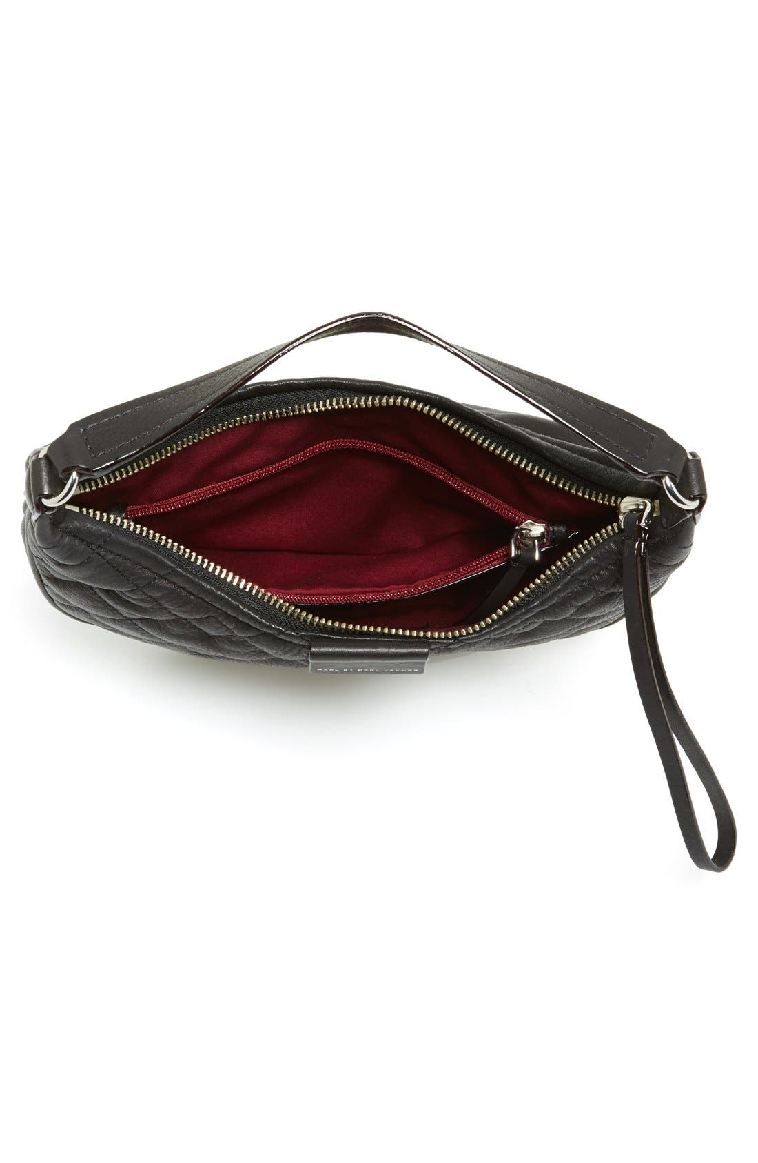 Alternate Image 3  - MARC BY MARC JACOBS 'Tiny Banana' Italian Leather Hobo
