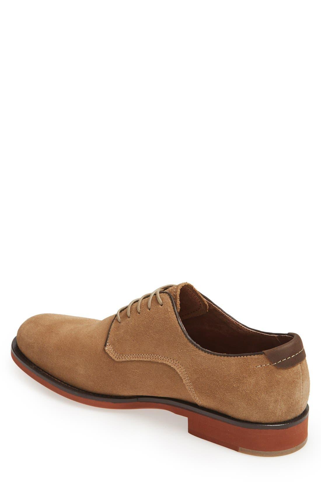 Alternate Image 2  - Johnston & Murphy 'Ellington' Suede Buck Shoe (Men)