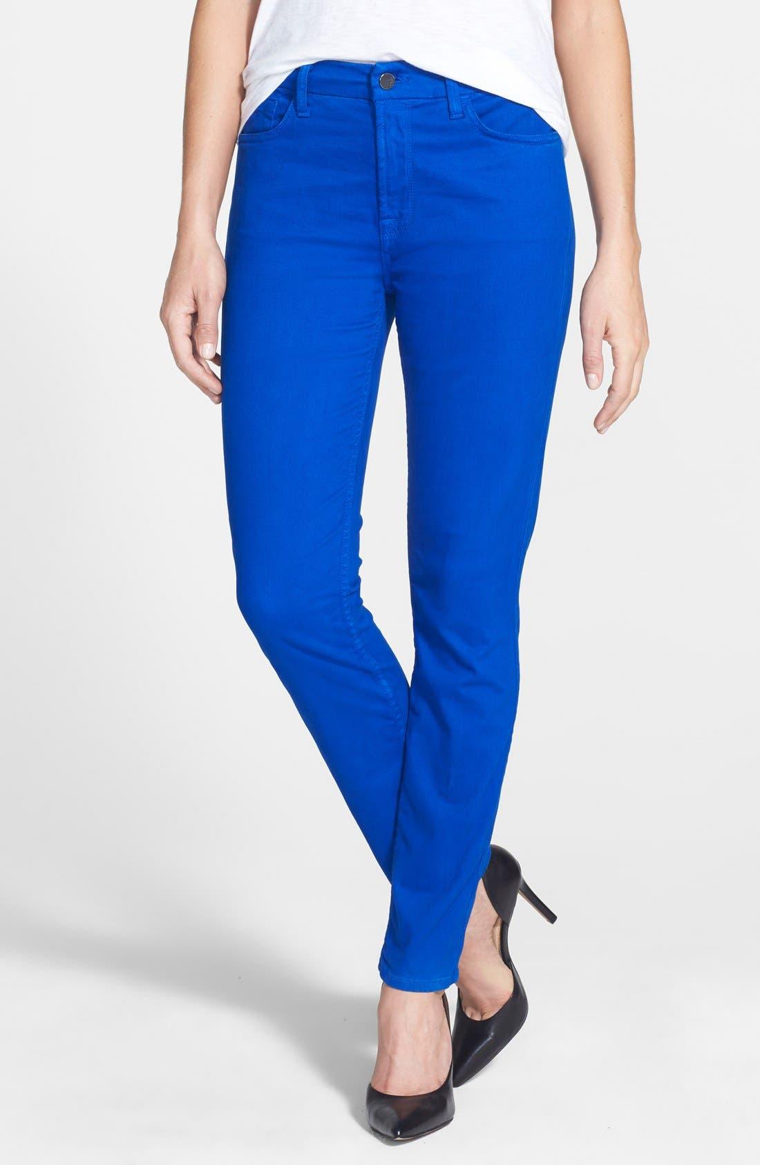 Jen7 Colored Stretch Denim Skinny Jeans