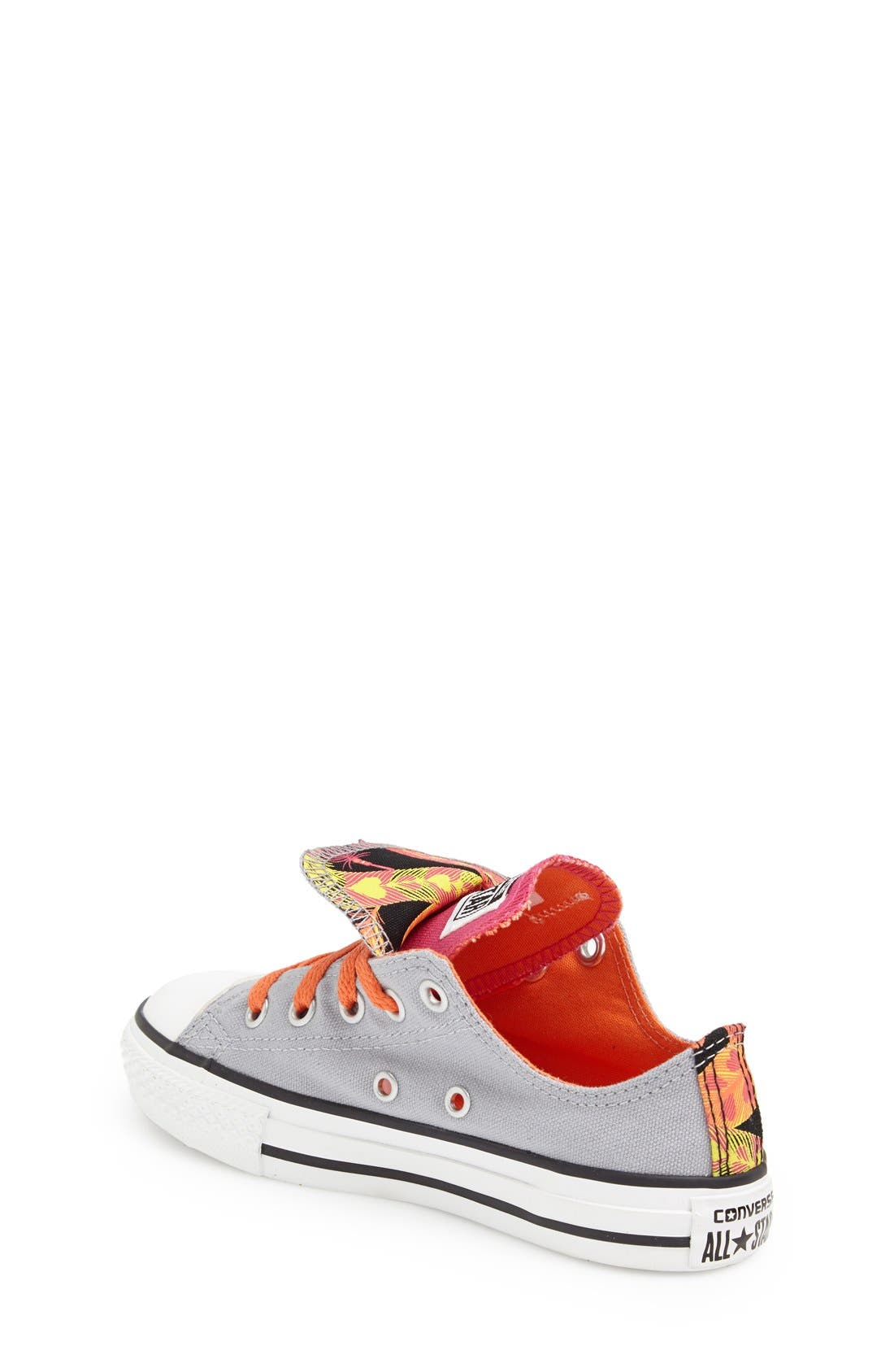 Alternate Image 2  - Converse Chuck Taylor® Double Tongue Sneaker (Baby, Walker, Toddler, Little Kid & Big Kid)